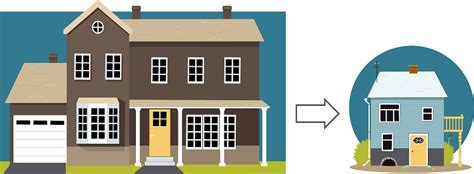 four steps for downsizing your home mlstechs the opportunities of downsizing your home