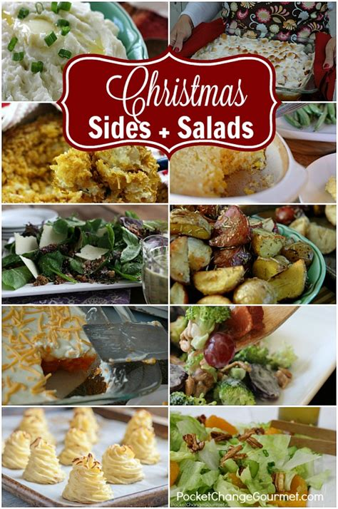 images of christmas side dishes side dishes and salads recipe pocket change gourmet
