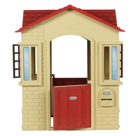cottage playhouse cottage playhouse house for toddlers tikes