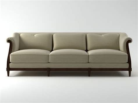 wooden sofa models exposed wood sofa 3d model baker
