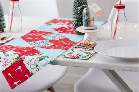 how to sew a table runner how to sew a table runner hobbycraft
