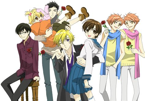 ouran high school host club think small big best triangles in anime
