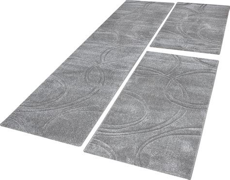 bettumrandung teppich bettumrandung teppich einfarbig mit handgearbeitetem