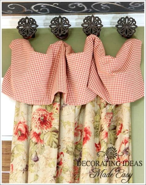 cottage curtains window treatments great cottage style decorating ideas