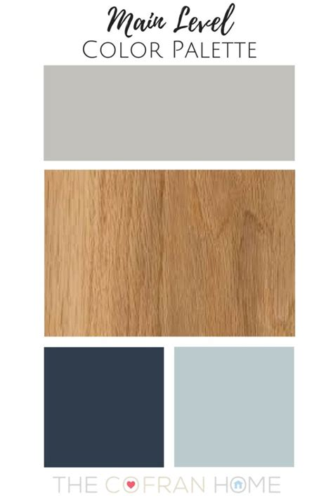 home color palette our new home color palette the cofran home