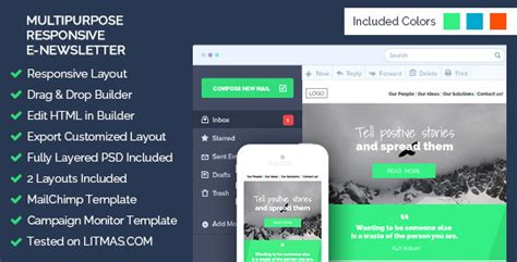 Multipurpose Email Template Builder Access Wordpress Theme Html Email Template Builder