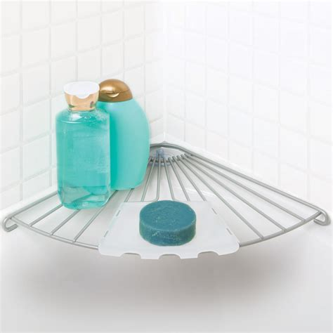bathtub organizer shelf wire bathtub corner shelf in suction organizers