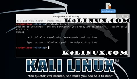 kali linux ddos attack tutorial kali linux tutorials ddos attack using slowloris kali