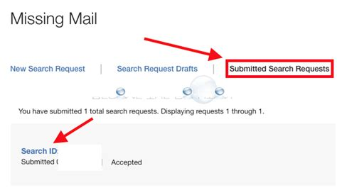 Search Missing How To Find Usps Submitted Search Requests Lost Mail