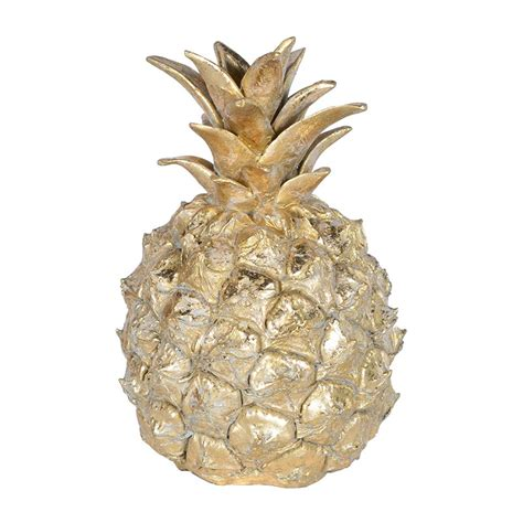 decorative ornaments for the home uk golden pineapple