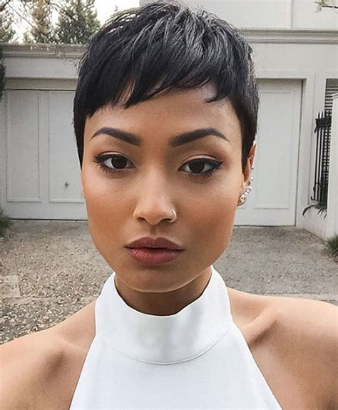 feathered pixie cuts 20 sassy and sexy black pixie cuts