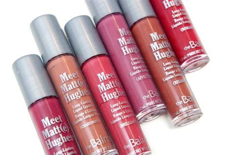 Thebalm Meet Matte Hughes Mini Set Vol Iii thebalm meet matte hughes exclusive new shades set the beautynerd