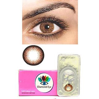 attractive diamond eye unisex brown color monthly