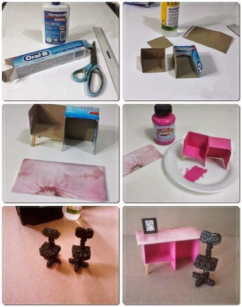 miniatures y dollhouse plantillas manualidades para mu 241 ecas escritorio y silla dollhouse