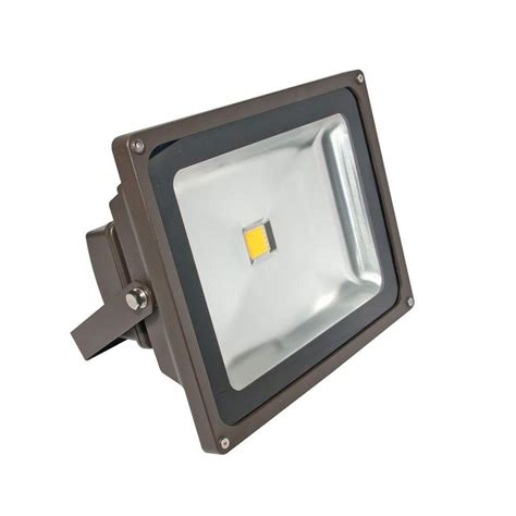 Outdoor Wall Mounted Flood Lights Lithonia Lighting 2 Light Wall Mount Outdoor White Floodlight Ofth 300pr 120 P Wh M12 The Home