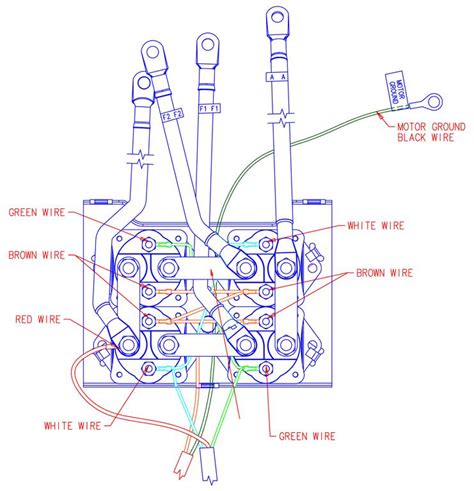 warn winch wiring diagram solenoid warn winch solenoid