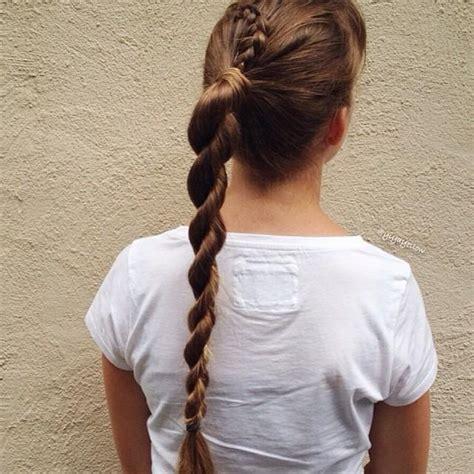 pigtail hairstyles rope braids lace rope braid
