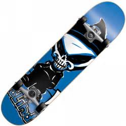 blind skateboards blind saver reaper blue mini
