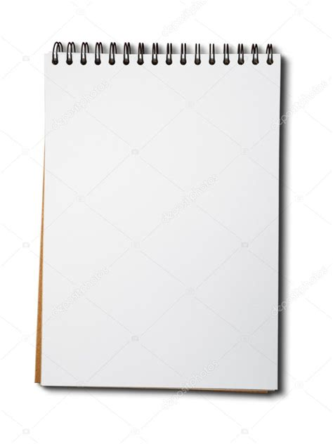 Blank White Paper Notebook Stock Photo 169 Nuttakit 4237756 Cryptocurrency White Paper Template