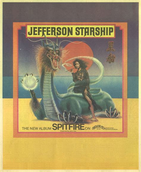 Jeffco Records Image Gallery Jefferson Starship Spitfire