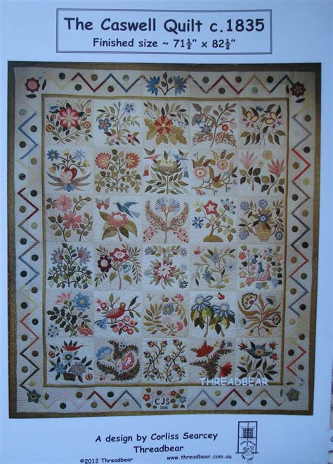 emily s cupboard the caswell quilt