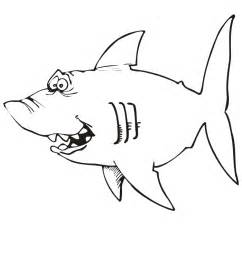 sharks coloring pages shark coloring page goofy looking shark
