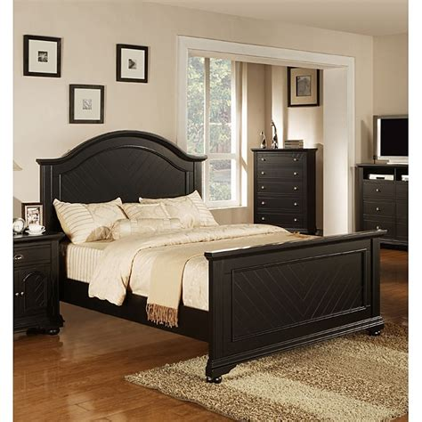 napa black king size bed overstock shopping great
