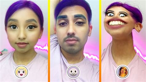 snapchat filters youtube