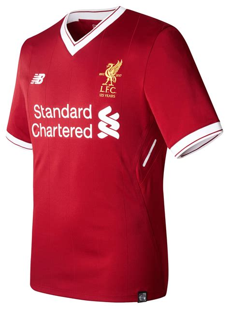 liverpool kit new liverpool kit liverpool fc shirt uksoccershop liverpool 17 18 home kit released footy headlines