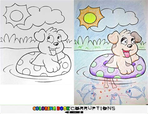 coloring book pages wrong the world of colouring books goes horribly wrong