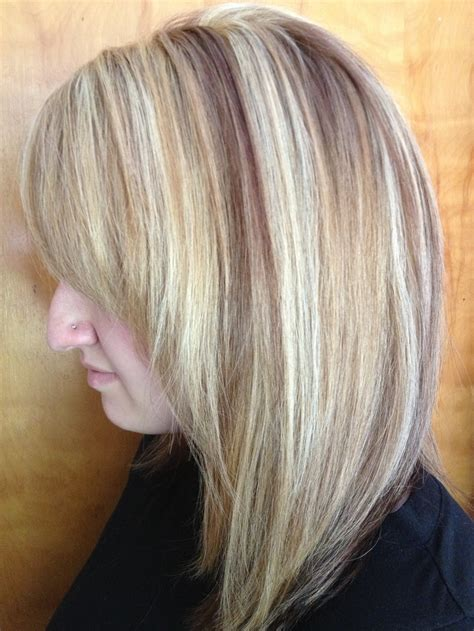 Foiling Lowlights On Bleached Hair | foiling lowlights on bleached hair 48 best images about