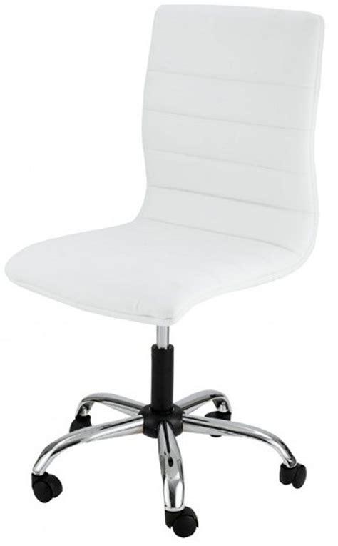 chaise bureau blanc chaise de bureau blanche meubles fran 231 ais