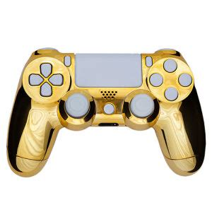 Hoodie Jumper Broadcast Yourself playstation dualshock 4 custom controller chrome gold