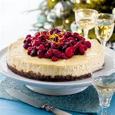 orange cranberry cheesecake this easy cheesecake will