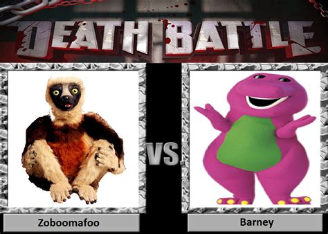 Death Battle Zoboomafoo Vs Barney by masonartcarr on