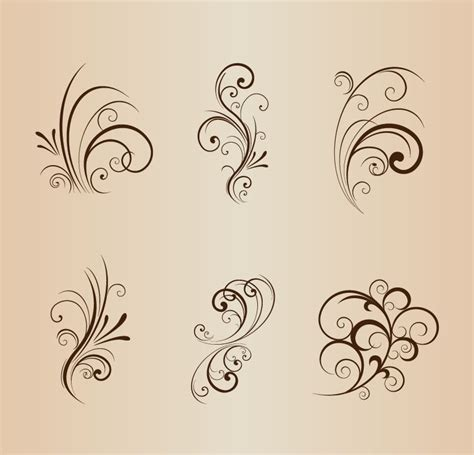 floral design elements vector archive title all free web resources for designer