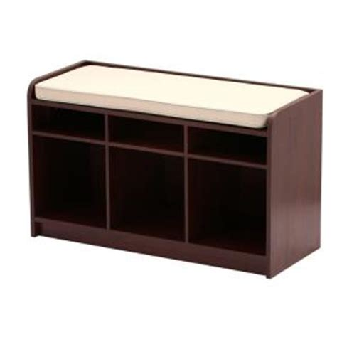martha stewart storage bench martha stewart living 35 in x 21 in dark cherry storage