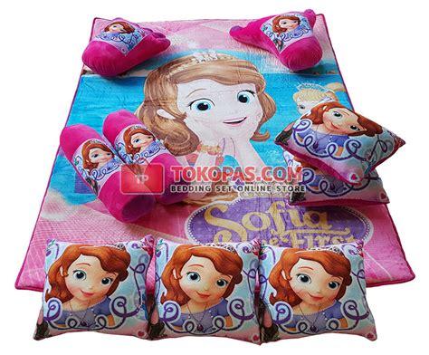 Karpet Karakter Fullset karpet selimut set karakter lembut motif kartun dewasa