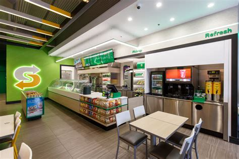layout of subway restaurant restaurant branding packaging beverage branding