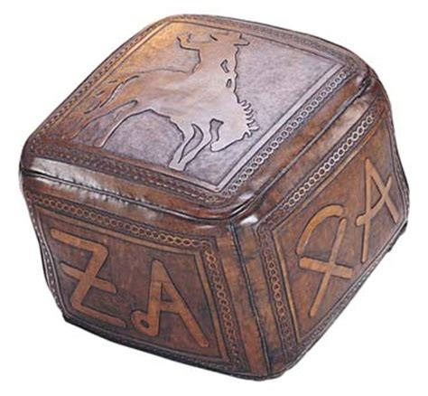 western ottomans leather ottoman bronco brands western ottomans free