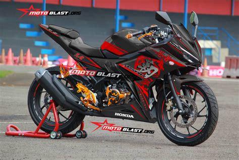 Lu Projie Cbr 150 Facelift modifikasi honda all new cbr150r kanji