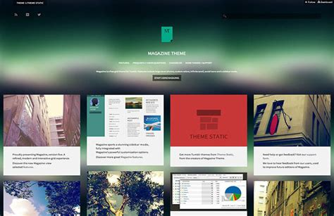 themes tumblr responsive 48 best free responsive tumblr themes download