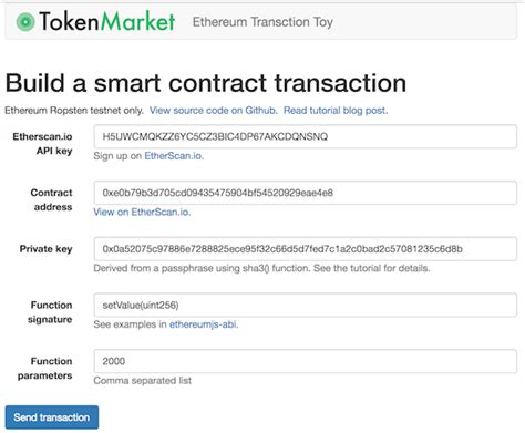 ethereum tokens smart contracts notes on getting started books json api exle phpsourcecode net