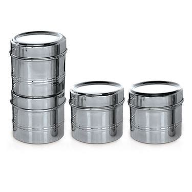 Buy Branded 44 Pcs Stainless Steel Storage Set Online At