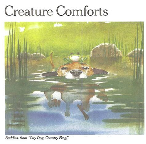 creating comforts the stigma of juvenilia city dog country frog
