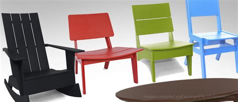 loll designs modern recycled plastic outdoor furniture