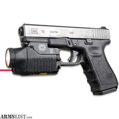 glock 17 light and laser object moved