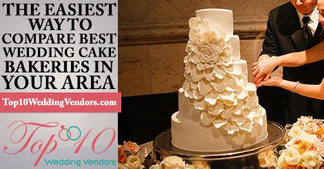 top 10 wedding cake bakeries in chicago, il custom cakes