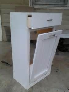 tilt out trash bin do it yourself home projects from