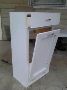 tilt out trash bin storage cabinet tilt out trash bin do it yourself home projects from